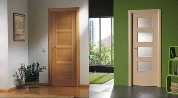 Puertas de madera en madrid puertas de interior modernas for Colores para pintar puertas de interior