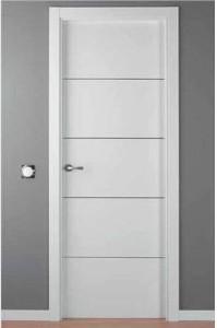 Puertas lacadas en madrid puertas lacadas modernas for Precio puerta aluminio blanco exterior